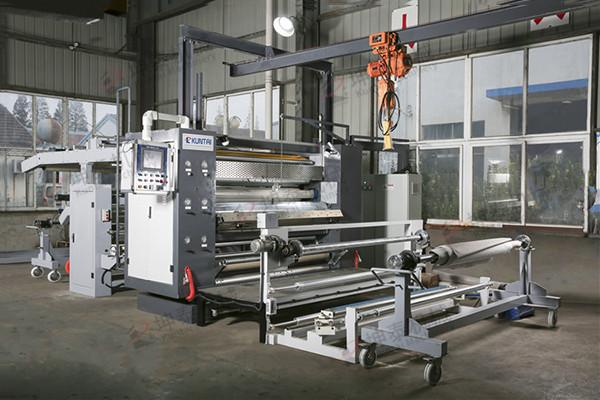 KT-PUR-01A纺织无纺热熔胶复合设备