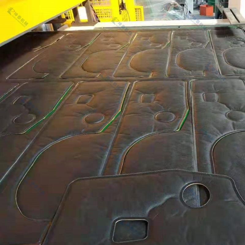 汽车吸音棉隔音棉自动成型裁断机
