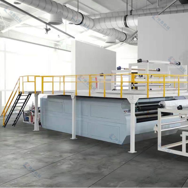 热熔胶膜平板层压复合连续生产线